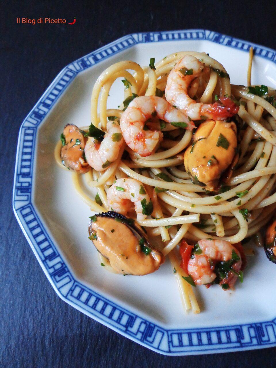 Spaghetti allo scoglio di Cannavacciuolo